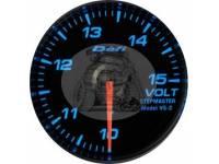 Вольтметр выносной 60 мм, синяя подсветка 01bl