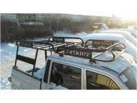 Багажник на УАЗ Патриот Пикап Навигатор с каркасом кунга