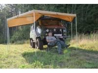 Маркиза автомобильная РИФ веерная 2х2 м (правая)