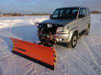 Отвал снегоуборочный серии «Профи» (лебедка)