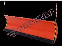 Снегоуборочный отвал (быстросъемный) серии «Стандарт» 2,0м для а/м семейства УАЗ (УАЗ-469, УАЗ-3163 Патриот, УАЗ-2206 Санитарка, УАЗ-3151 Хантер, УАЗ Профи)
